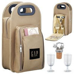 Customized Picnic Wine Tote Bag
