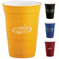 Promotional 12 Oz Game Day Ceramic Cup