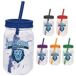 Promotional 25 Oz Game Day Mason Jar