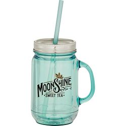 Promotional 20 Oz Vintage Double-Wall Mason Jar