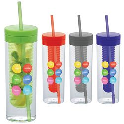 Custom 20 Oz Ice Cool Infuser Tumbler