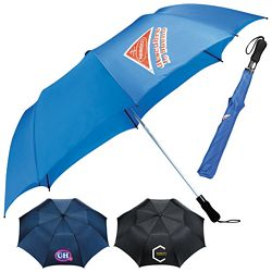 Promotional Stromberg 58 Folding Golf Umbrella