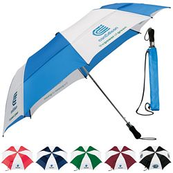 Customized Stromberg 58 Vented Folding Golf Umbrella