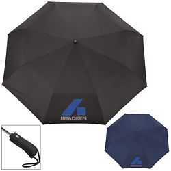 Custom Stromberg 54 Auto Open-Close Folding Umbrella