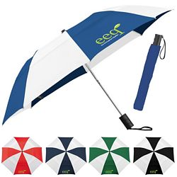 Promotional Stromberg 42 Vented Windproof Slim Stick Umbrella