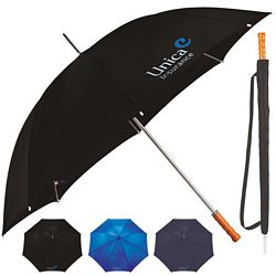 Custom Stromberg 60 Golf Wooden Handle Umbrella