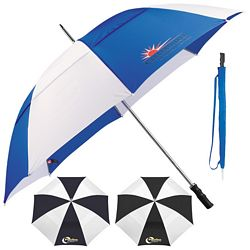 Promotional Stromberg 60 Two-Tone Vented Golf Umbrella