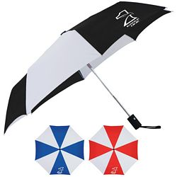 Custom Cutter Buck 42 Auto Open Close Umbrella