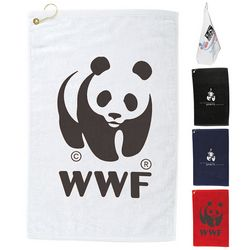 Customized Protowels Mid-Weight Terry Golf Towel