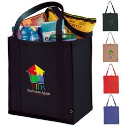 Customized Polypro Non-Woven Little Grocery Tote Bag