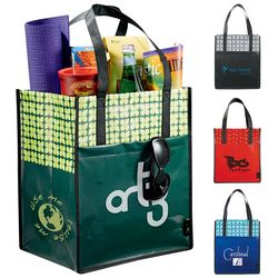 Promotional Laminated Non-Woven Big Grocery Tote