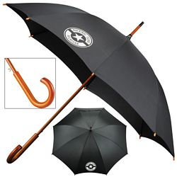 Promotional 48 Ecosmart Stick Umbrella