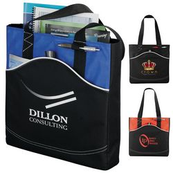 Promotional Boomerang Business Tote Bag