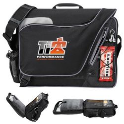 Customized Summit Checkpoint-Friendly Compu-Messenger Bag