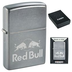 Promotional Zippo Windproof Lighter Gray Dusk Matte