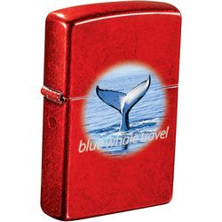 Promotional Zippo Windproof Lighter Translucent Red