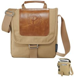 Customized Field CoCambridge Collection Tablet Messenger Bag