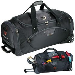 Customized High Sierra AT Go 30 Wheeled Duffel Bag