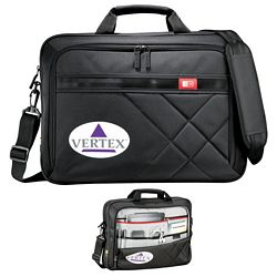 Promotional Case Logic Cross-Hatch Compu-Case