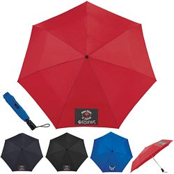 Promotional Totes 44 3-Section Auto Open-Close Umbrella