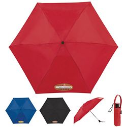 Promotional Totes 38 4-Section Auto Open-Close Umbrella