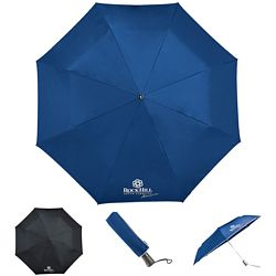 Customized Totes 44 Titan 3-Section Auto Open-Close Umbrella