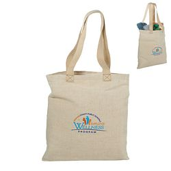 Promotional Alternative Jute Shopper Tote Bag