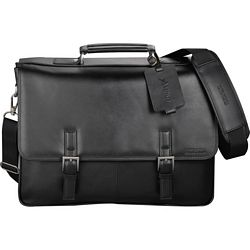Promotional Kenneth Cole Manhattan Leather Compu-Messenger Bag