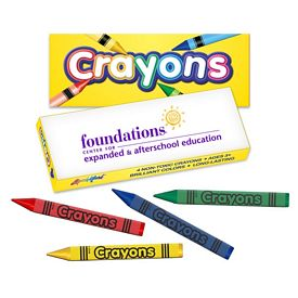 Customized Liquimark Pack Of Four Quality Crayons