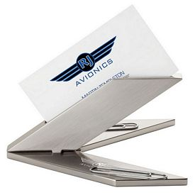 Promotional Essentials Eb6009 Business Card Holder