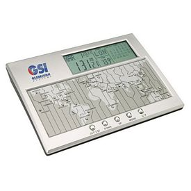 Promotional Essentials Vaghi Calendar Thermometer Clock