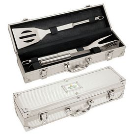 Promotional Giftcor Gr2005 3 Piece Mini Executive Bbq Set