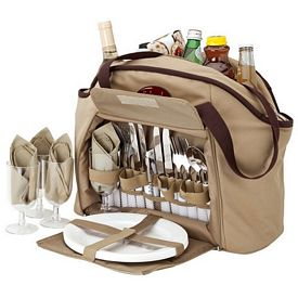Promotional Giftcor Gr4904 Picnic Set Cooler Tote