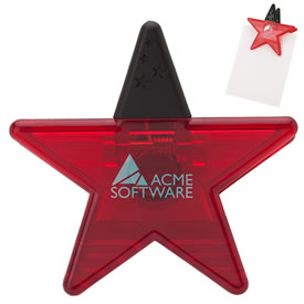 Promotional Valumark Vs1201 Star Memo Holder Magnet