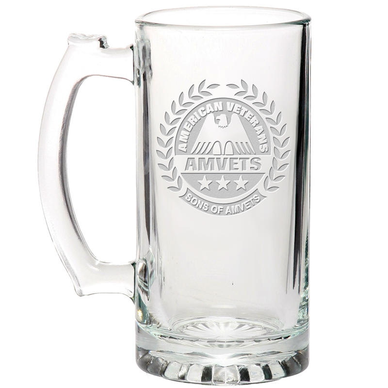 promotional libbey 25 oz glass beer mug etched customized libbey