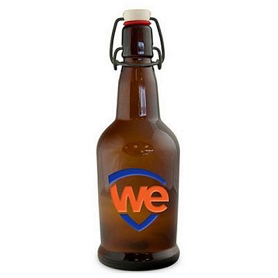 Promotional 32 oz. EZ Beer Growler Deep Etched