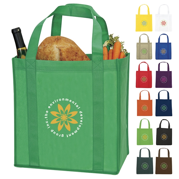 Reusable Grocery Nonwoven Tote Bag
