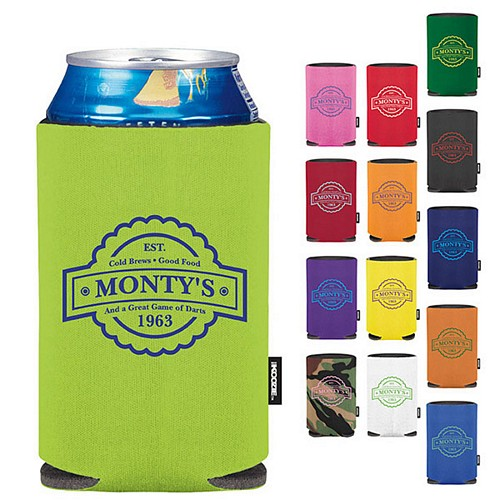 Promotional Koozie Collapsible Can Kooler