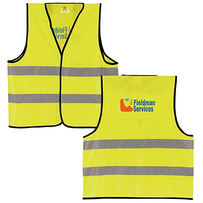 Promotional Reflective Safety Vest