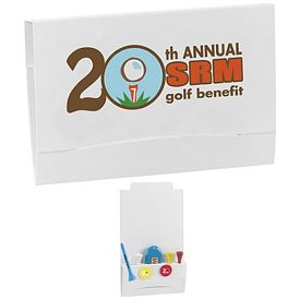 Promotional 4-2-1 Golf Tee Packet Value Pak-2-1/8 Tees