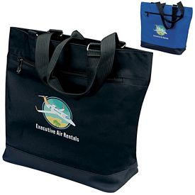 Promotional Plaza MicroPoly Tote Bag