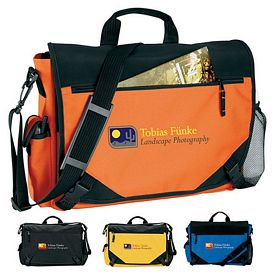Promotional Hurricane Courier Messenger Bag