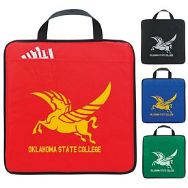 Promotional Non-Woven Carry Along Stadium Cushion