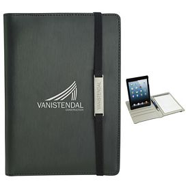 Promotional Rotating Case Tech Padfolio for Mini 5.5x8 Tablet