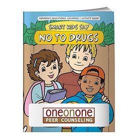 Promotional Coloring Book: Smart Kids Say No to Drugs