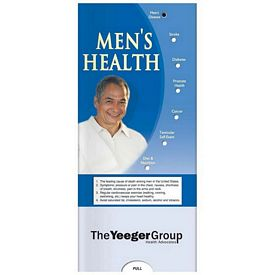 Promotional Medical Pocket Slider: Mens Health