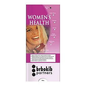 Promotional Medical Pocket Slider: Womens Health