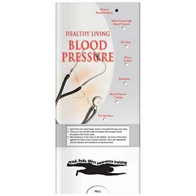 Promotional Medical Pocket Slider: Blood Pressure
