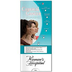 Promotional Medical Pocket Slider: Cervical Cancer