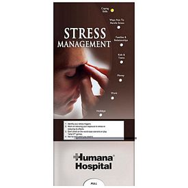 Promotional Medical Pocket Slider: Stress Management